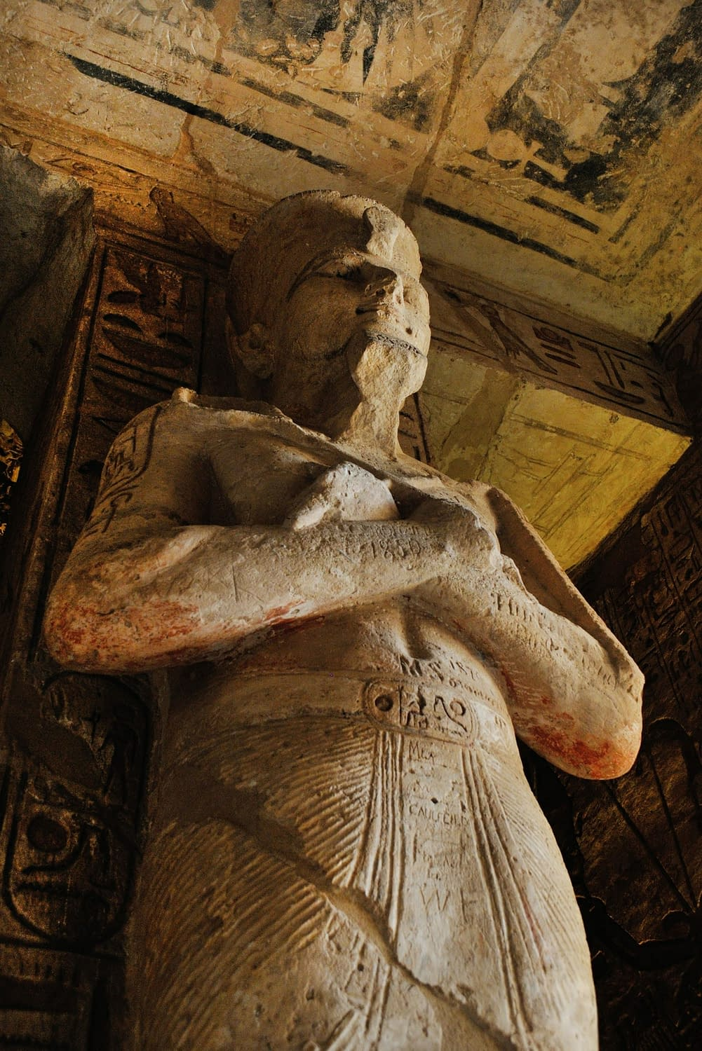 Researchers find Cancer in ancient Egyptian mummy 5 mummy sleeping statue 2183927 scaled Researchers find Cancer in ancient Egyptian mummy