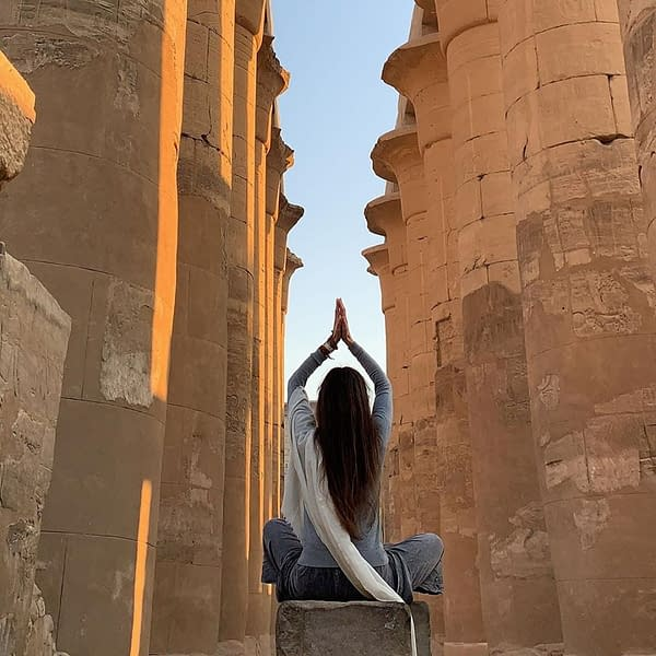 Egyptian temple - Ancient history