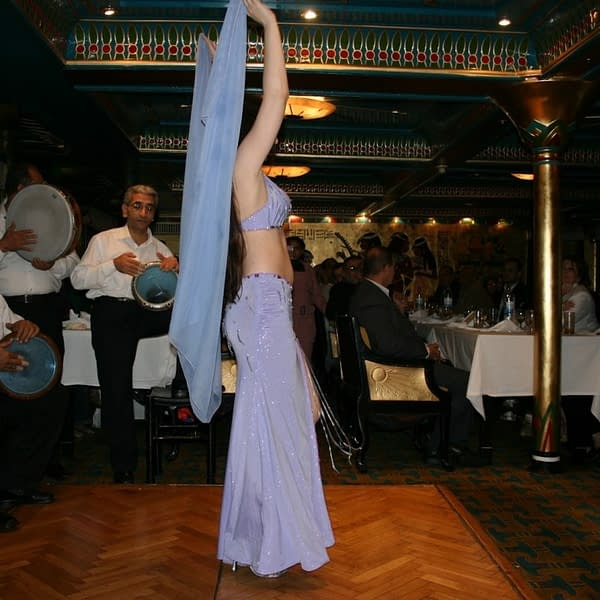 Wedding reception - Bride - Dinner On The Nile - Lady Egypt Tours - Book Now