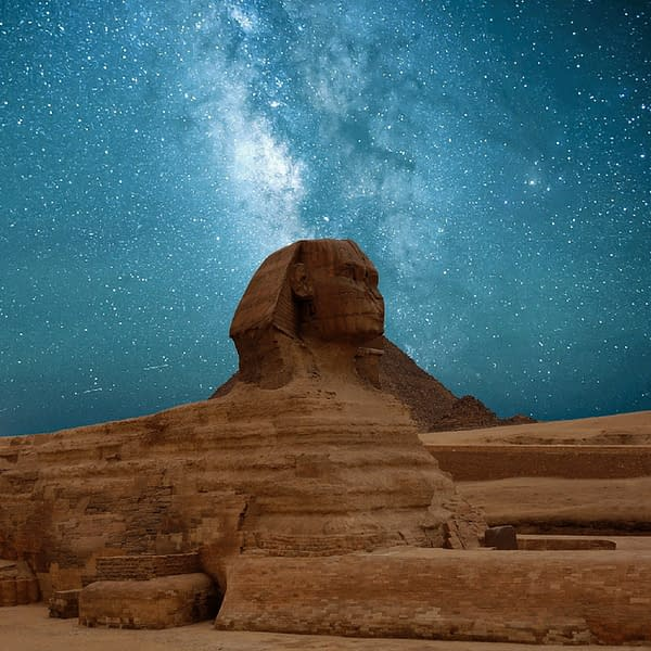 Great Sphinx of Giza - The Great Pyramid of Giza
