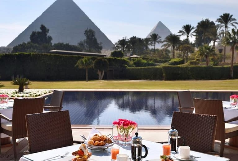 Cairo - Marriott Mena House, Cairo - Marriot Mena House Hotel 5-Star Deluxe - Lady Egypt Tours - Book Now